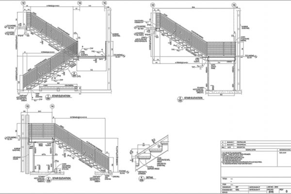 Stair & Handrail E-Sheet 2